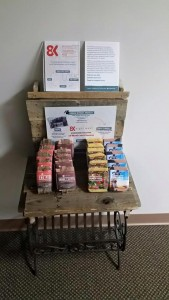 8 West soap display