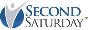 Second saturday divorce workshop logo