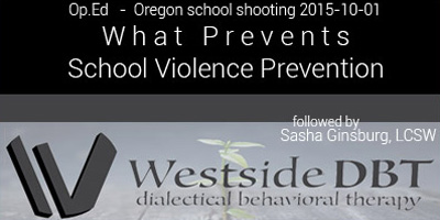 School Violence Prevention / Westside DBT