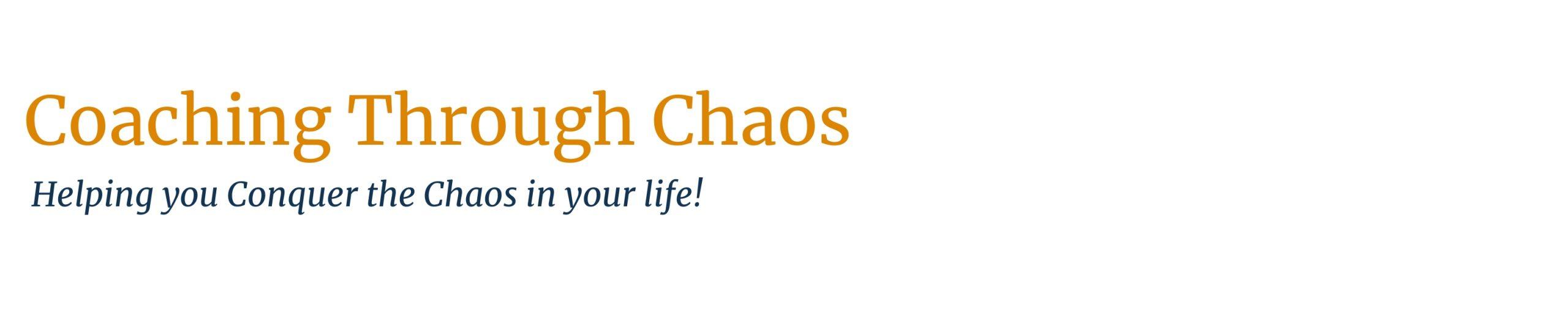 COaching Through Chaos Logo high dpi